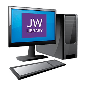 Иконка JW Library на ПК